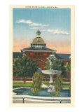 Union Station and Park, Augusta, Georgia Print