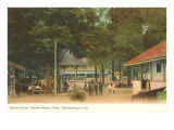 Broad Ripple Park, Indianapolis, Indiana Posters