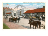 Market Buildings, Ft. Wayne, Indiana Prints