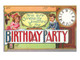 Birthday Invitation Prints