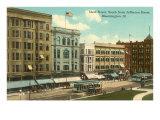 Main Street, Bloomington, Illinois Kunstdrucke