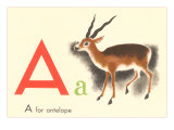 A is for Antelope Art