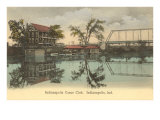 Canoe Club, Indianapolis, Indiana Prints