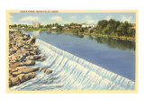 Snake River, Idaho Falls, Idaho Print
