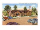 Lodge, Niagara Cave, Iowa Posters