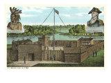 Ft. Wayne, Indiana, 1794 Posters