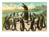 Happy Birthday, Alligator Chorus Prints
