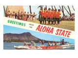 Greetings from the Aloha State Art
