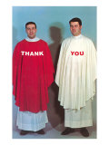 Thank You, Large Altar Boys Posters