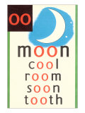 OO in Moon Posters