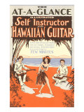 Hawaiian Guitar Instructions Art