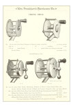 Advertisement for Four Fishing Reels Prints