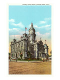 Courthouse, Council Bluffs, Iowa Poster