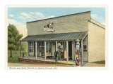 Store and Post Office, Santa Claus, Indiana Poster