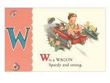 W is a Wagon Prints