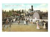 Electric Dock, Coeur d'Alene, Idaho Prints