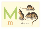 M is for Mice Posters