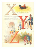 Poems for X Y and Z Poster