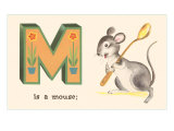 M is a Mouse Posters