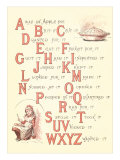 Victorian Alphabet Jingle Prints