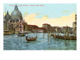 Grand Canal, Salute Church, Venice, Italy Posters