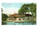 Boat Club, Sioux City, Iowa Prints