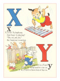 X is for Xylophone, Y is for Yard Prints