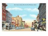 Main Street, Richmond, Indiana Prints