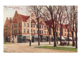 Scoville Block, Oak Park, Illinois Prints