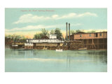 Wharf, Augusta, Georgia Prints