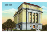 Masonic Temple, Kokomo, Indiana Prints