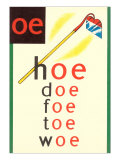 OE in Hoe Plakat