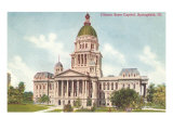 State Capitol, Springfield, Illinois Posters