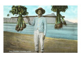 Taro Peddler, Hawaii Prints