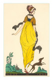 European Fashion, Whippet, 1800 Print