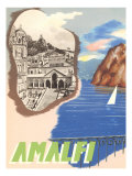 Amalfi, Travel Poster Prints