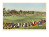 18th Green, Golf Tournament Prints