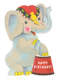 Happy Birthday, Toy Elephant Posters