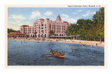 Royal Hawaiian Hotel, Waikiki, Hawaii Prints
