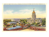 State Capitol, Springfield, Illinois Prints