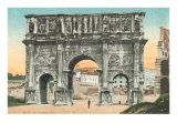 Arch of Constantine, Rome, Italy Prints