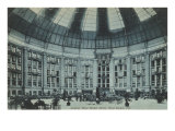 Interior, West Baden Hotel, Indiana Print