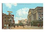 Downtown Ft. Wayne, Indiana Poster