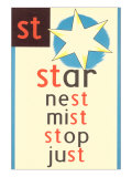 ST for Star Plakater