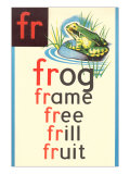 FR for Frog Print