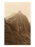 The Pali, Honolulu, Hawaii Print