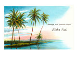 Greetings from the Hawaiian Islands, Aloha Nui Posters