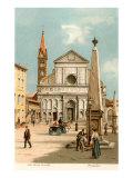Santa Maria Novella Church, Florence, Italy Posters