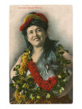 Belle des îles hawaïennes Posters