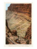 Hermit Trail, Grand Canyon Posters